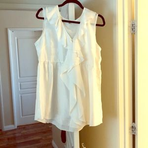 CAbi  White Blouse New W/out tags...